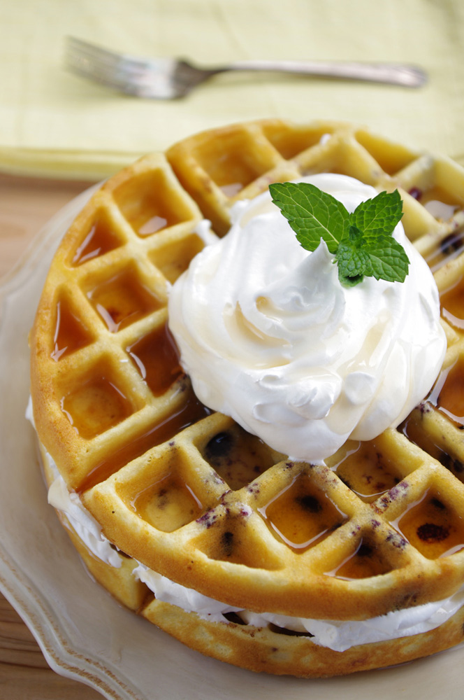 gluten free blueberry waffles 1 3 4 cups gluten free flour 2 teaspoons ...